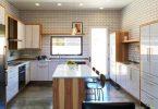 Kitchen with island: 100 best design ideas on photo