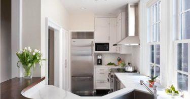 Design av et lite kjøkken i Khrushchevka: 100 bilder av ideer