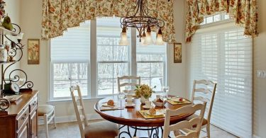 Beautiful and original curtains for the kitchen: window decoration