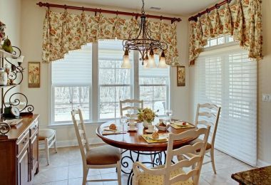 Window decoration: Beautiful and original curtains for the kitchen