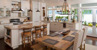 Kjøkken spisestue: 50 beste ideer og layout alternativer på bilde