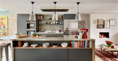 Kitchen hood: 100 design ideas on the photo