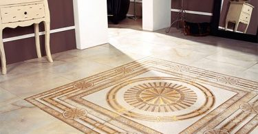 Floor tile hallway (photo): choose the design, color and layout option