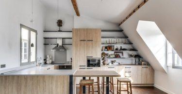 U-formet kjøkken layout: 35 design ideer på bilde