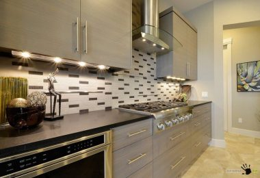 Tiles for the kitchen: 100 photos of the design of walls, floor and apron