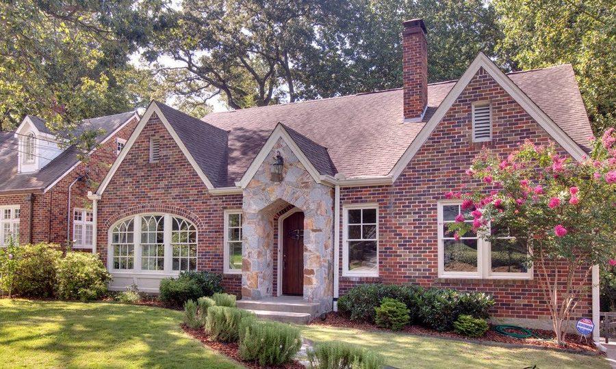 Красива тухлена дома: стилен дизайн крайградски и частни имения