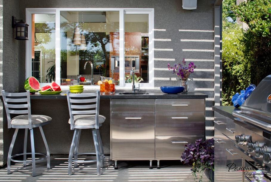 Кухня: стилен интериор снимка