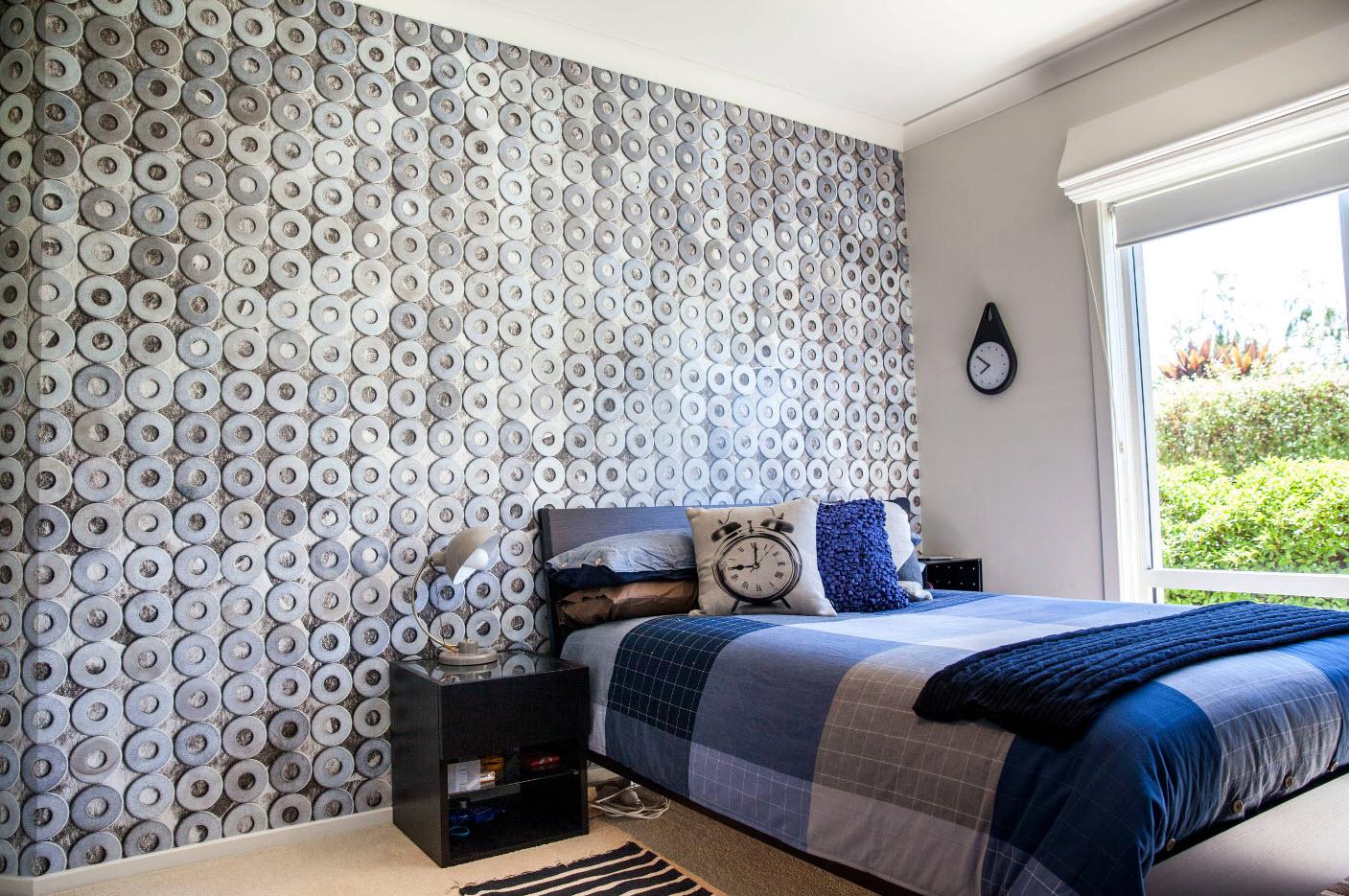 Декор для стен спальни своими руками