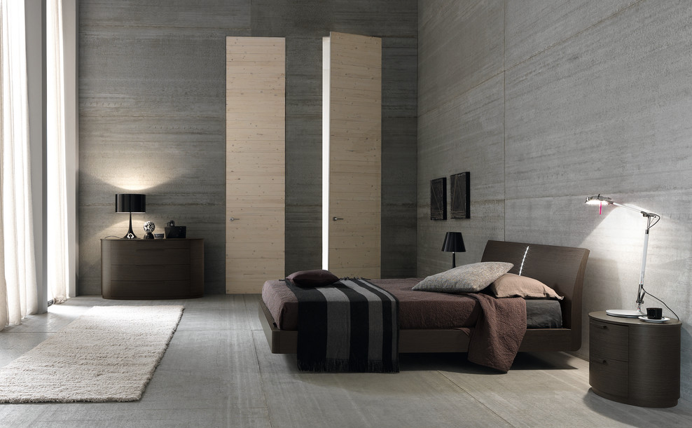 How to make a man's bedroom in the style of minimalism