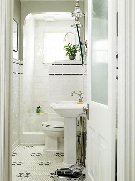 10 страхотни идеи за малка баня, който ще изненада и вдъхнови