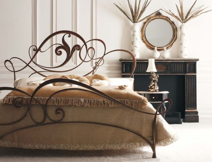 Wrought iron furniture - the most durable.