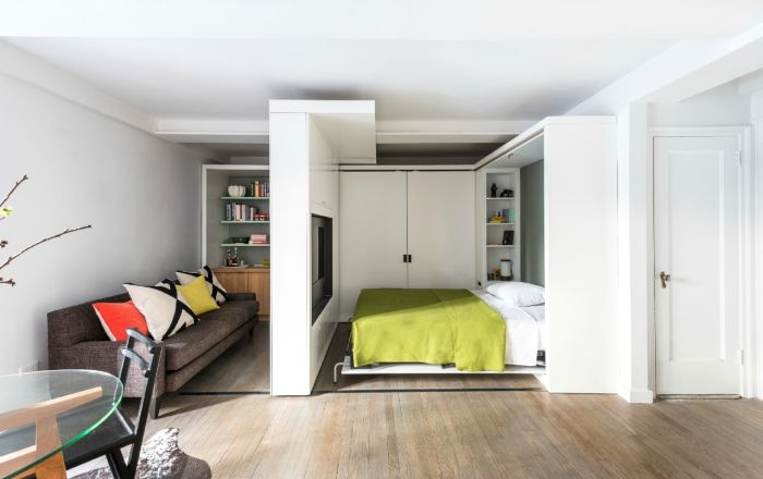 Even a small bedroom can be comfortable and stylish.