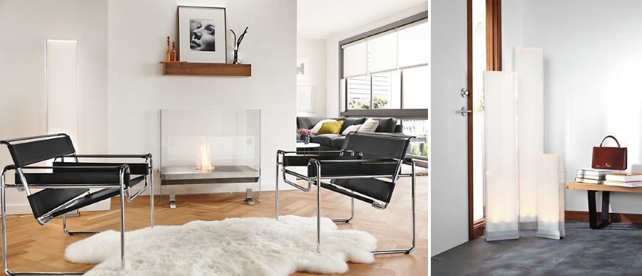 Excellent floor lamp from Room & Board