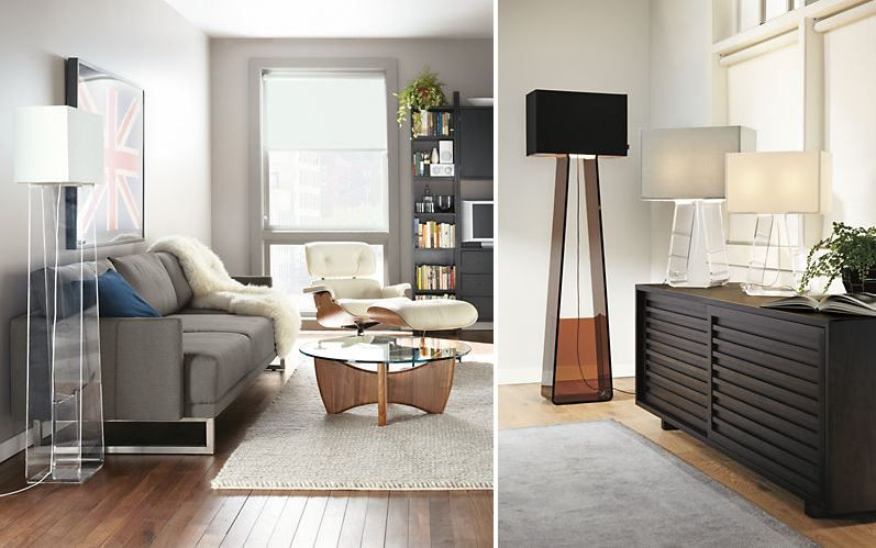 Wonderful floor lamp from Room & Board