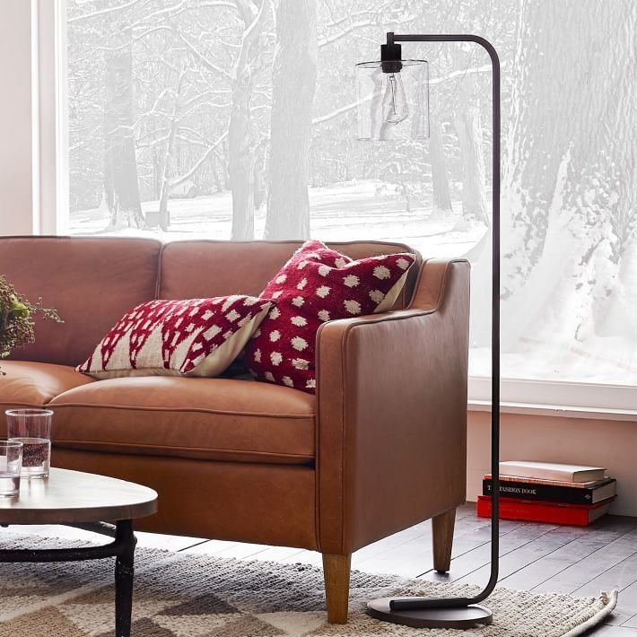 A beautiful floor lamp from West Elm