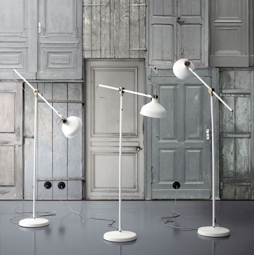 Excellent floor lamp from IKEA
