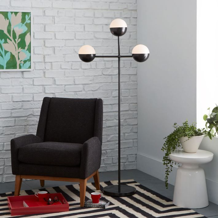 Creative floor lamp from West Elm