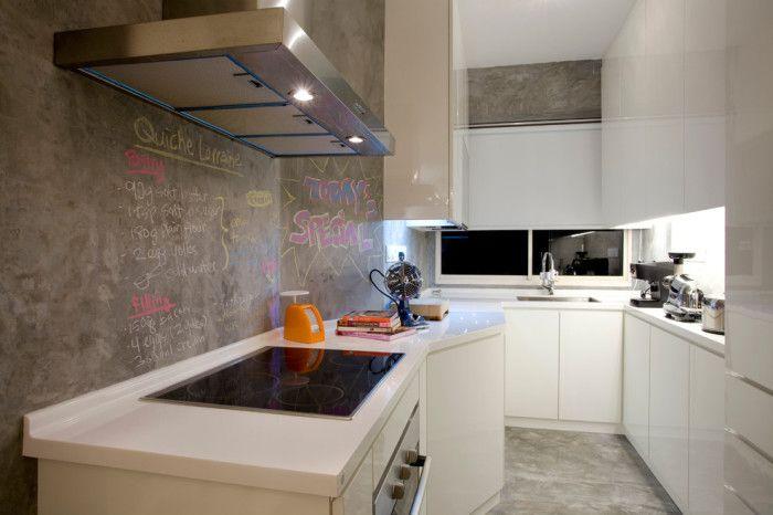11 idee interessanti che renderanno il perfetto interiore bianco ... - Armadietti Della Cucina Idee Progettuali
