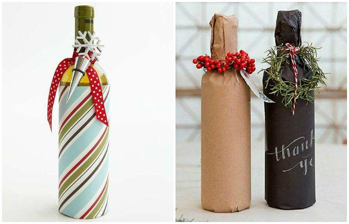 14 изключителни идеи, как да се направи една бутилка маса шампанско украса Нова година