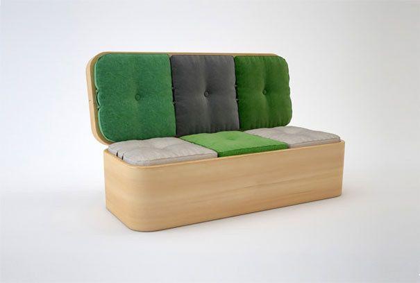 15 варианта невероятни компактни мебели дизайн