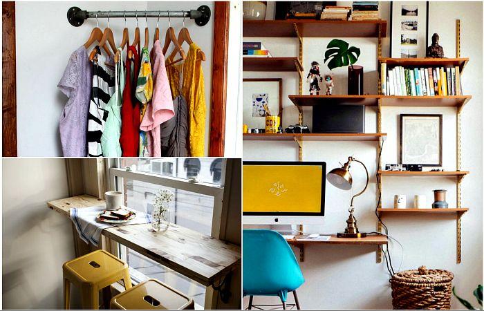16 ефективни идеи, които ще помогнат на трансформиране и оптимизиране на пространството малки апартаменти