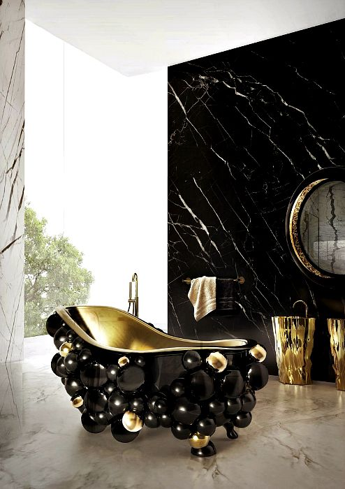 19 прекрасни бани, засягащи неговия дизайн и стил