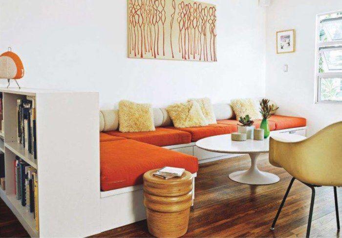 20 зашеметяващи идеи за малък хол, който все още не е имал време да се отегчиш