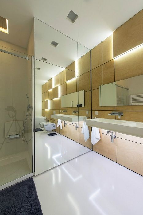 Much depends on the correct lighting in the bathroom, this is what will create a special interior.