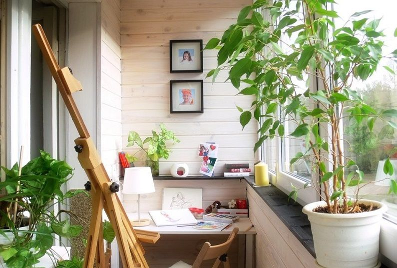How to use the balcony in the children's room