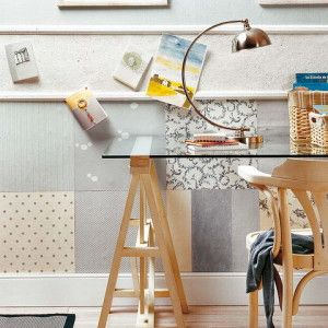 What to do with the remnants of wallpaper? 50 ideas and photos