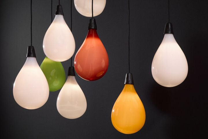 Creative lamp: balloons by Maarten Baas