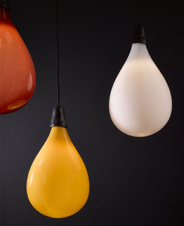 Amazing pendant lamps from Das Pop collection by Maarten Baas
