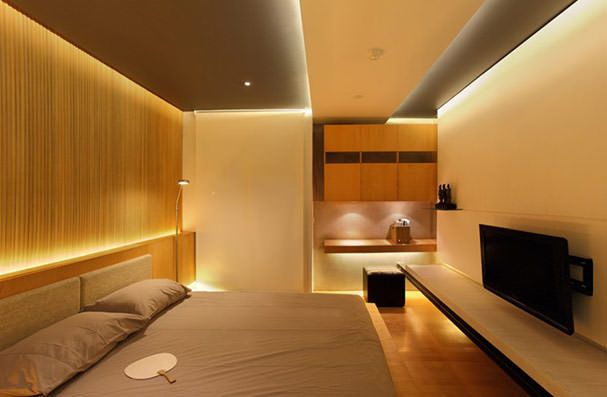 Decorative lighting and light bedroom
