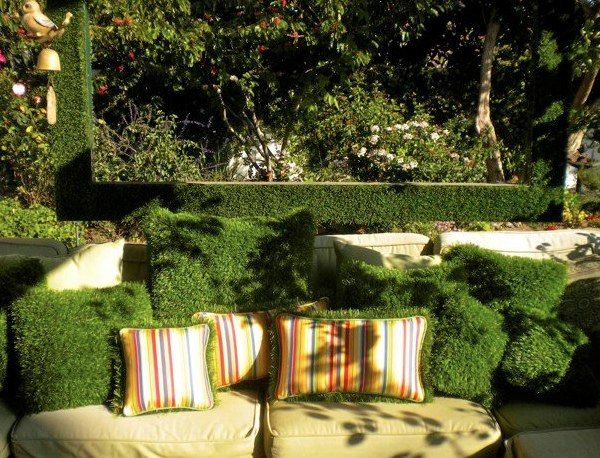 Stunning covering items for the garden of moss
