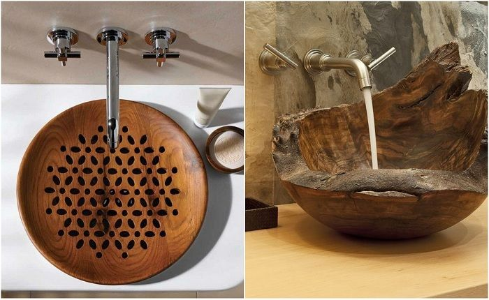 Fine examples of wooden bowls.