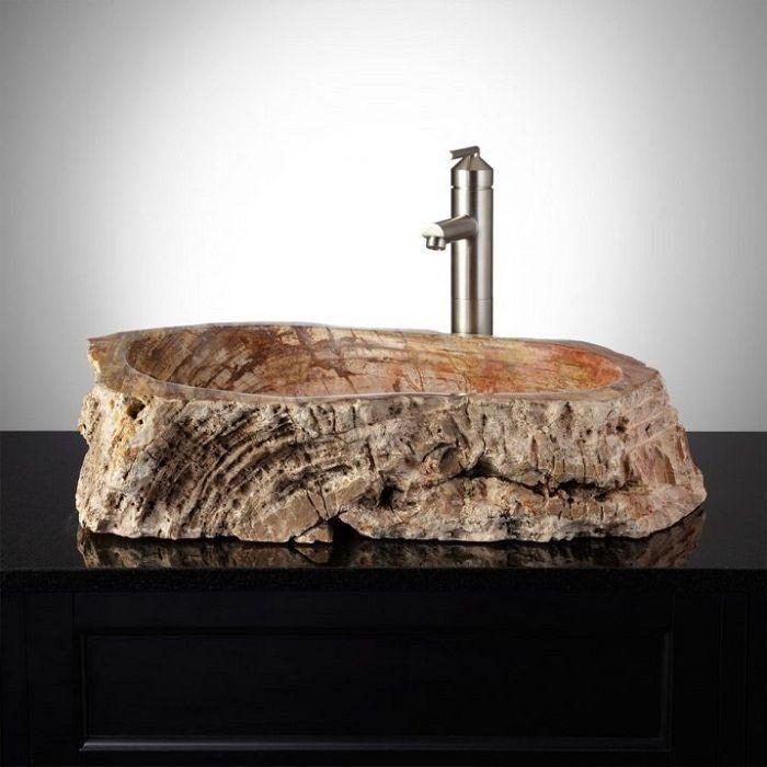 Дървен корпус, който ще създаде невероятен интериор в банята