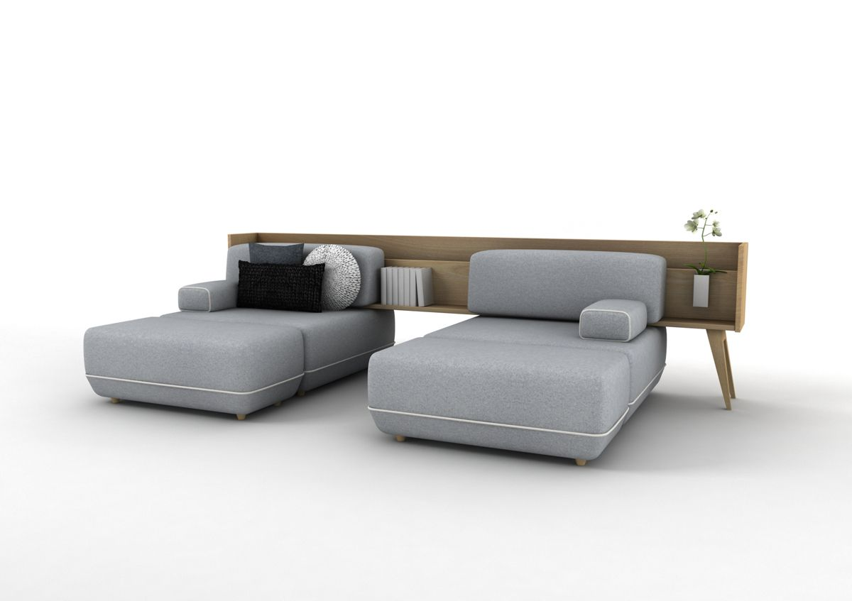 Two transformable couch