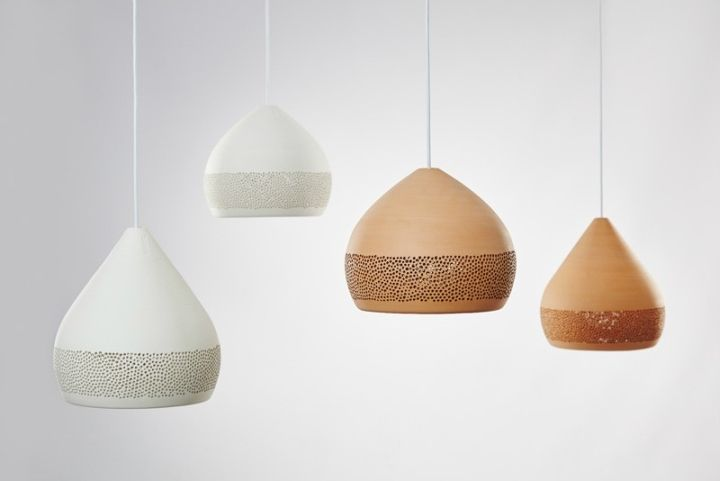 Pendant lights dome shape SpongeOh