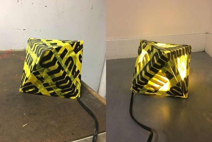 How to make a designer lamp for $ 1
