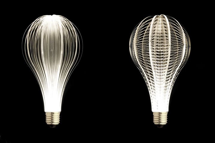 Designer light bulbs in a minimalist style - Photo 14