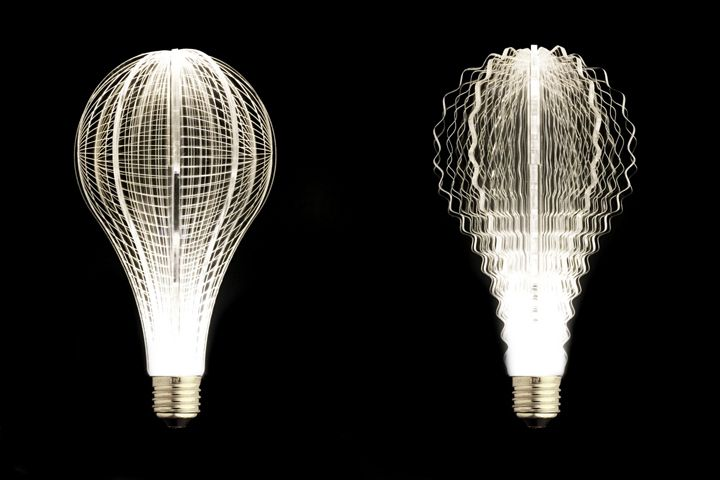 Designer light bulbs in a minimalist style - Photo 15