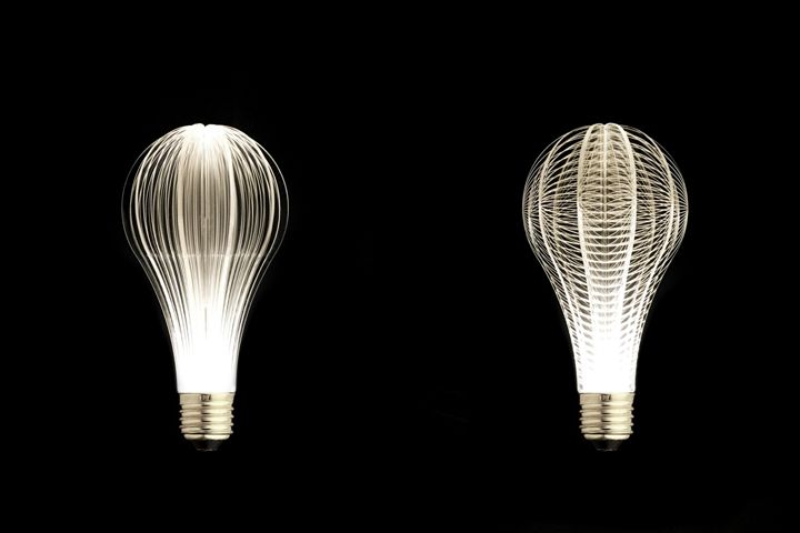 Designer light bulbs in the style of minimalism - Photo 16