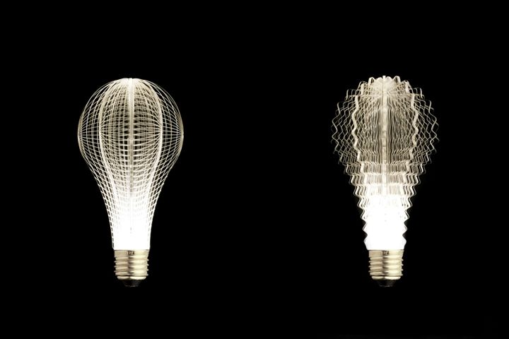 Designer light bulbs in a minimalist style - Photo 17