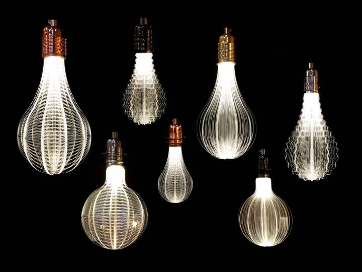 Designer light bulbs in a minimalist style - Photo 18