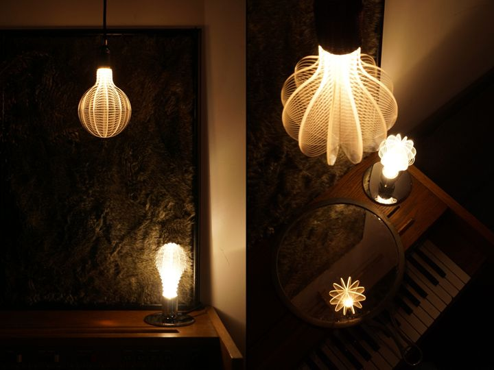 Designer light bulbs in a minimalist style - Photo 2