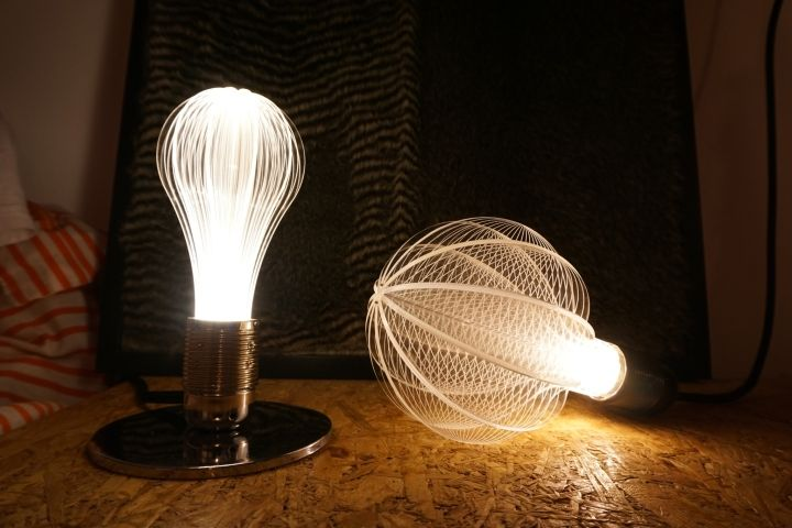 Designer light bulbs in a minimalist style - Photo 4