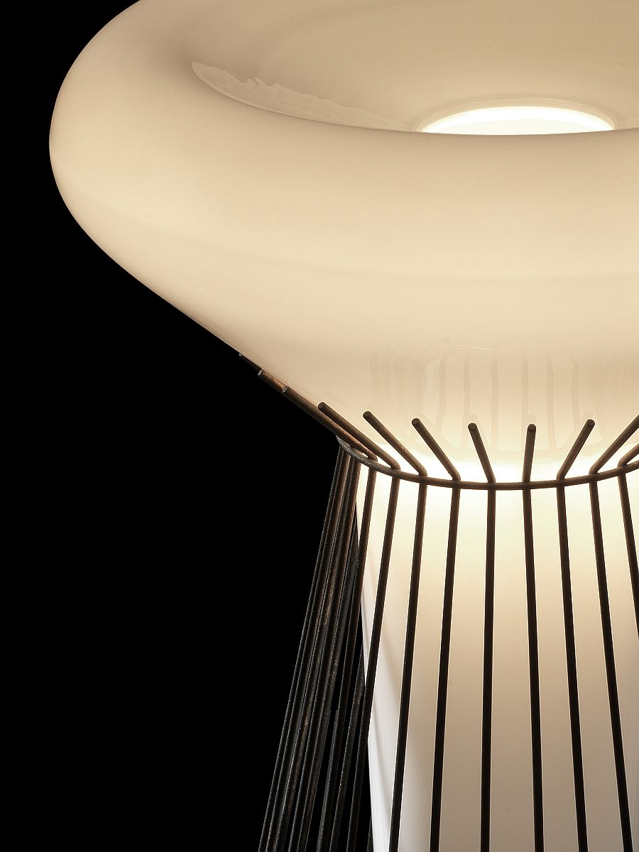 Material of the lamp from the company «Foscarini»