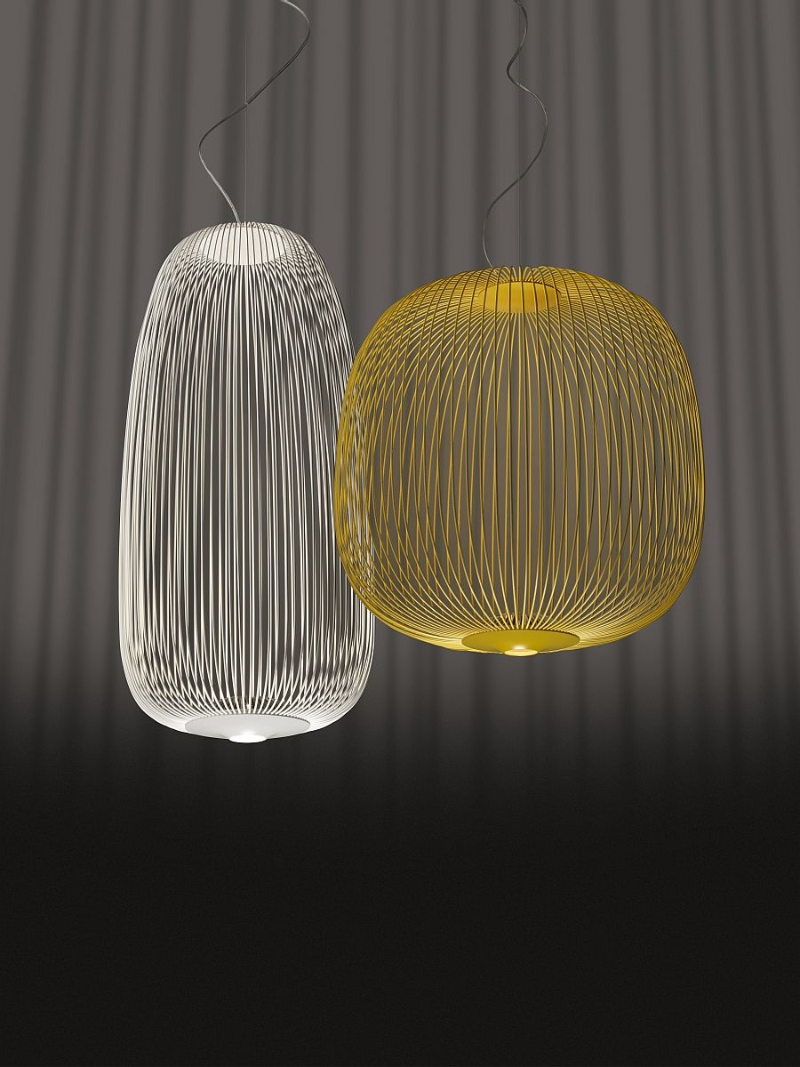 Pendant lights Spokes from Foscarini