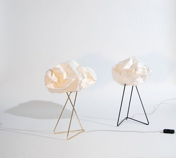 Delightful floor lamp by Mickey Bar
