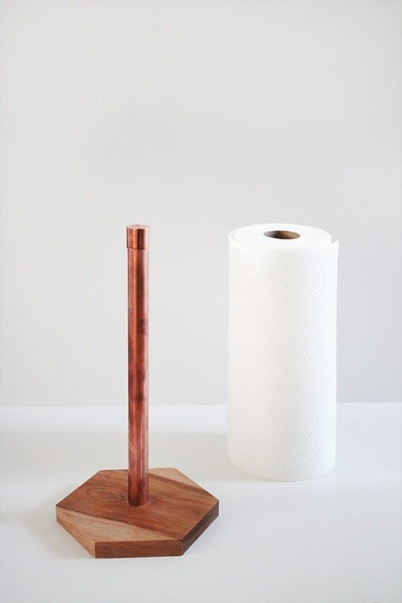 Copper paper holder - Photo 2